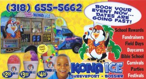 Kona Ice Shreveport-Bossier