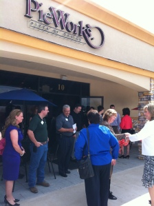 PieWorks Pizza by Design Ribbon Cutting