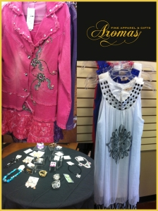Aromas Fine Apparel and Gifts