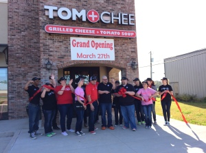 TOM+CHEE Opening Day -  Grand Opening