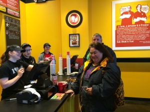 TOM+CHEE Opening Day -  First Customers
