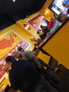 TOM+CHEE Opening Day - line is a good sign