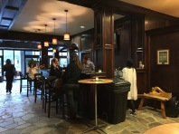Cozy on up to the bar in the lobby of The Remington Suite Hotel and Spa