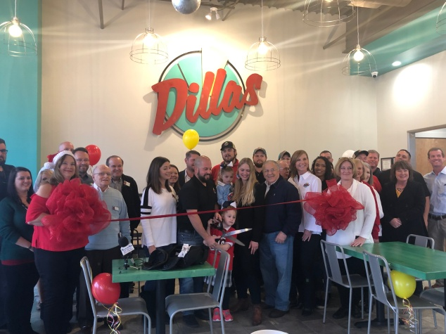 Dillas Prima Quesadillas Shreveport, LA Ribbon Cutting