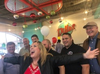 Fun at the Dillas Ribbon Cutting