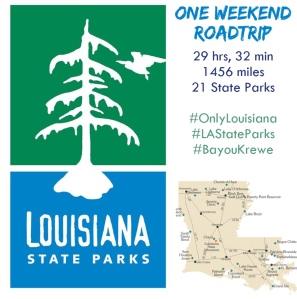 Louisiana State Park Roadtrip